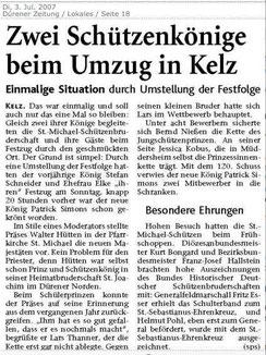 Dürener Zeitug 03.07.2007