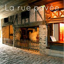 L'huilier, la rue pavée, Musée des Métiers