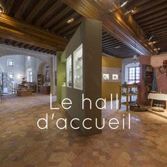 auberge Anjou, hall d'accueil, Musée des Métiers