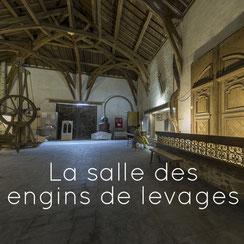L'alambic, la salle des engins de levages, Musée des Métiers