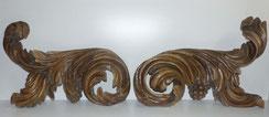Riesige Supraporte, Barock, Rocaillen, Trauben, Blattwerk, 120 cm breit , € 650,00