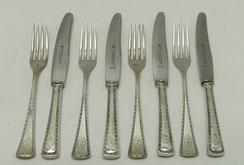 Vorspeisebesteck für 4 Personen, 800er Silber, VSF Düsseldorf, Modell 5100,€ 210,00