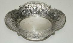 Silberschale, England, silverplated, versilbert, Empire, 28,5 cm,37,0 x 28,5cm, € 295,00