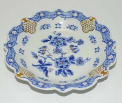 Wallendorf Porzellan, Gebäckschale, Barock-Serie,Delft neu,Modell 3092,Ø 20,0 cm, € 65,00