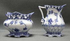 Royal Copenhagen, Musselmalet Vollspitze, Milch & Zucker, No. 1032,1112, 1. Wahl , € 215,00