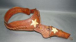 Vintage, original american gunbelt, Pistolengürtel, Holster, 105 cm,41,5 inches, € 450,00