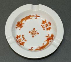 Meissen, Aschenbecher, Reicher Drache rot, Neuer Ausschniitt, 1. Wahl,Ø 12,5 cm, € 55,00