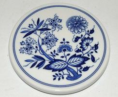 Hutschenreuther, Kannen Untersetzer, Zwiebelmuster blau, Ø 15,5 cm, € 25,00
