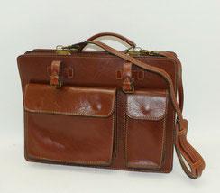 Herren, Echt Leder, Umhängetasche, Laptop Tasche, rot braun, € 115,00
