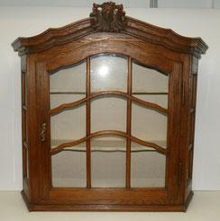 Hängeschränkchen im Aachener Stil um 1900, Vollverglast, 83,0 cm, € 700,00