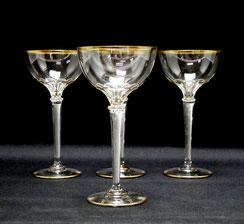1. von 4. Jugendstil,Glas,spiralförmige Luftblasen,Theresienthal,Josephinenhütte , € 145,00