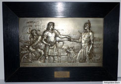 Hochinteressante Darstellung aus der Jahrhundertwende über den Handel zwischen europäischen Handwerkern und amerkianischen Ureinwohnern, € 320,00