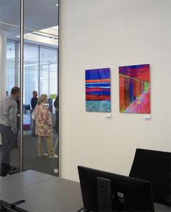 """Kunstsammlung IHK Wiesbaden, """"Wellenmeer"""" und """"Die Tür"""""""