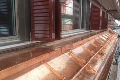 Spenglerei Stefan Müggler GmbH Spenglerarbeiten Dachgauben Dachfenster Ortbrettverkleidung