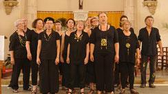 Kantoj de la Mondo choeur mixte de Saint-Secondin, en concert à Usson le 1 décembre 2019