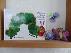 Musikmärchen Die kleine Raupe Nimmersatt mit Annette Flury-Jegge