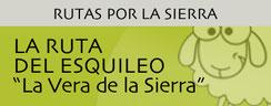 """La Ruta del Esquileo """"La Vera de la Sierra"""""""
