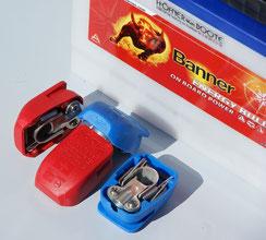 Polklemmen Schnell Verschluss Batterieklemmen isoliert Höfner-Boote®