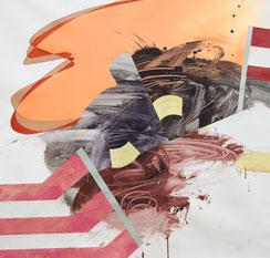 Carlos Puyol, ST, 2016, acrylic-linnen, 95x89cm