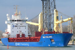 BBC Chartering vessel in port