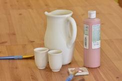 Keramik malen kann jeder - ohne Voranmeldung, ohne Kurs.