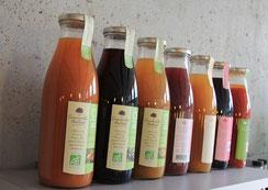 Jus de fruits de Bourgogne, au Bistrot du Parc