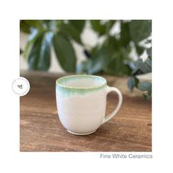 Kakaobecher Lissi ©Sabine Schönbohm, Kaffeebecher, Kakao, Coffee, Weiß, White
