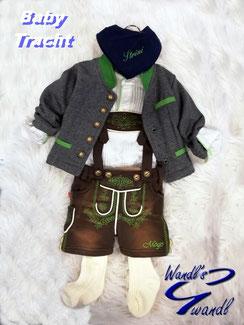 baby-tracht-bub-braune-lederhose-weste-wandls-gwandl