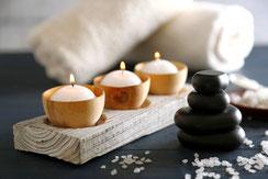 schmecken, hören, riechen, sehen, fühlen - Genussvoll Entspannen  mit achtsamen Massagen, die alle 5 Sinne in die Behandlung einbeziehen.
