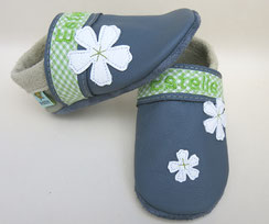Krabbelschuhe handgemacht kokido Schuhe kokido