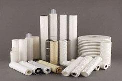 Gamme de produits de filtration