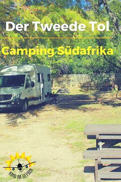 Campingplatz am Bains Kloof Pass.