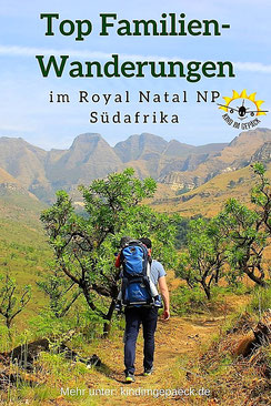 Wanderungen im Royal Natal NP