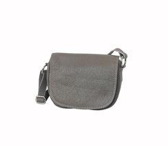 Leder Tasche grau taupe EM-EL Collection