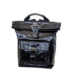 Leder Rucksack schwarz EM-EL Collection