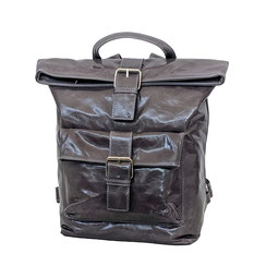 Rucksack Leder grau EM-EL Collection