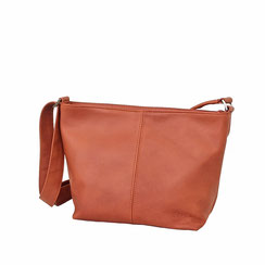 Leder Tasche orange rost EM-EL Collection Schweiz
