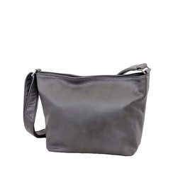 Leder Tasche grau Leather bag EM-EL Collection