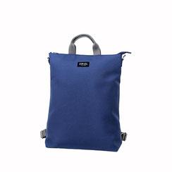 Einkaufstasche Shopper Rucksack blau EM-EL Collection