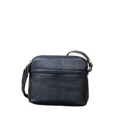 Leder Tasche schwarz Leather bag black EM-EL Collection Schweiz