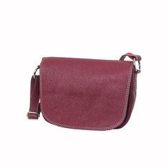 Leder Tasche rot dunkelrot EM-EL Collection