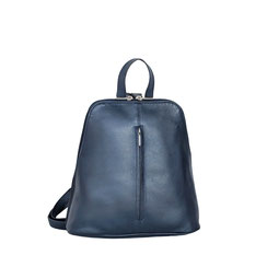 Leder Rucksack blau EM-EL Cllection Backpack Leather