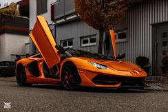 Lambo Aventador SVJ