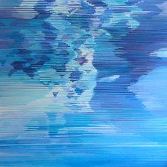 2. 3. 016, 150 x 150 cm, Acryl auf Leinwand, 2016