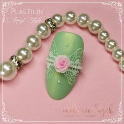 Nailart Online Kurs Plastilin Acryl Style Melanie Lazik Academy N-ageldesign Schulung