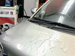 コーティング限定 ミネラル取り洗車