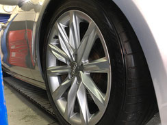 Audi A7 Sportback 新車コーティング