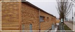 © Holzbau Böll Zimmerei Freystadt, Neumarkt und Umgebung Promotionbild Thema Fassadenbau