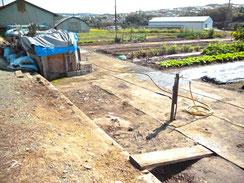 西区 畑の物置解体   施工後