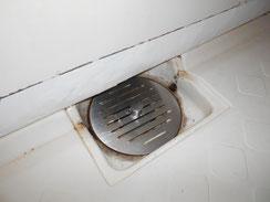 東灘区 賃貸マンション   浴室排水   施工後